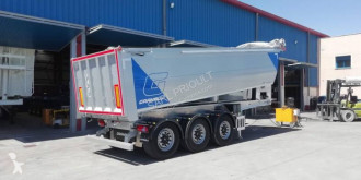 Granalu construction dump semi-trailer benne TP 28 m³