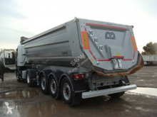 Menci ronde tp acier semi-trailer used construction dump