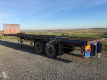 Trailor flatbed semi-trailer Droit