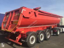Fruehauf acier intensive semi-trailer used construction dump