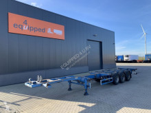 Broshuis container semi-trailer 45FT HC multi, BPW+Drum, 1x liftaxle, 2x extendable, NL-trailer