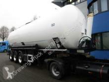 Feldbinder KIP 45.3 semi-trailer used powder tanker