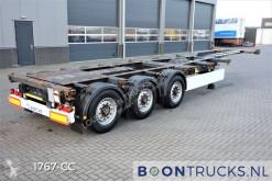 Semitrailer Krone SD containertransport begagnad