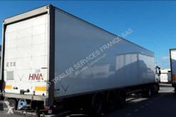 Semirimorchio furgone plywood / polyfond Fruehauf FOURGON 3 ESSIEUX AVEC PORTE RELEVABLE