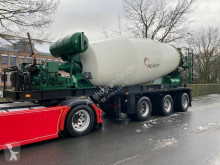 Semitrailer betong blandare Floor FLO-17-30H2 / 15 kbm Betonmischer mit Deutz Moto