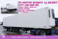 Schmitz Cargobull refrigerated semi-trailer SKO 20 / CITY LZG / TRIDEC / LBW 2000 kg TK ONE