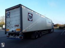 Semirimorchio furgone plywood / polyfond Fruehauf FOURGON 2 ESSIEU AVEC PORTE RELEVABLE