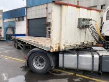 Fruehauf TRES EJES SUSPESNION NEUMATICA semi-trailer used flatbed