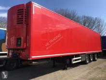 Chereau mono temperature refrigerated semi-trailer koelvries , Thermo King SL200e, ,Stuuras , liftas, laadklep, bloemenmaat