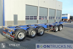 Broshuis 2 CONNECT-5AKCC | 2x20-40-45ft * 3 x STEERING * 4 x LIFT AXLE semi-trailer used container