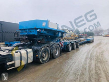 Nicolas A4207B semi-trailer used heavy equipment transport