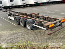 Semitrailer containertransport Pacton Containerfahrgestell Standard