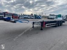 Semitrailer Trailor Semi-Reboque platta begagnad