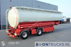 Heitling SDBH 51 SILO | 8 COMP 51 M³ * STEERING AXLE * FOOD * APK 01-2022 semi-trailer used tanker