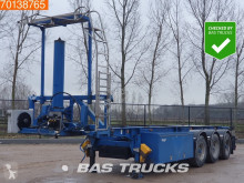Semi remorque porte containers LAG O-3-39 KC 30Ft. Kippchassis Liftachse