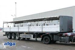 Sættevogn Platal SF24, Heck ausziehbar, gelenkt, Luft-Lift palletransport brugt