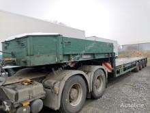 Goldhofer heavy equipment transport semi-trailer STZ-L4-43/80 Tieflader verlängerbar Tele
