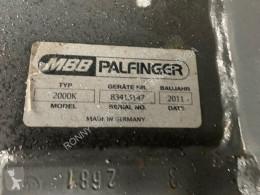 Semirremolque Semi - MBB 2000K