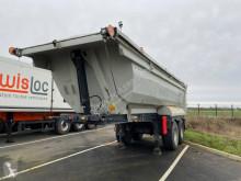 Leciñena LOCATION - Acier porte hydraulique 2 essieux semi-trailer used tipper