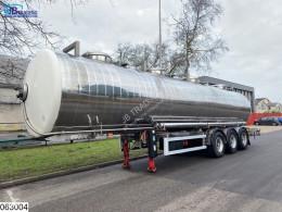 Maisonneuve Chemie 33569 Liter, 4 Compartments semi-trailer used tanker