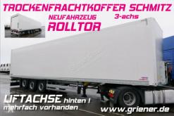 Schmitz Cargobull box semi-trailer SKO 24/ ROLLTOR / ZURRLEISTE /LIFT an achse 3 !!