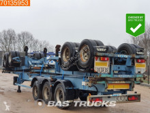 Trailer Asca Package of 3! Steelsuspension! tweedehands containersysteem
