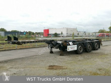 Krone SD27 eLTU 20/30/40/45 Box Liner semi-trailer used chassis