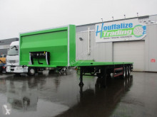Flatbed semi-trailer Full steel - drum brakes - container transport
