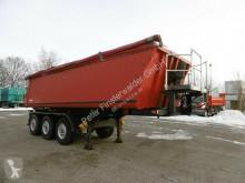 Ackermann 3-Achs Kipp Mulde Stahl-Alu Auflieger ca. 26m³ semi-trailer used tipper