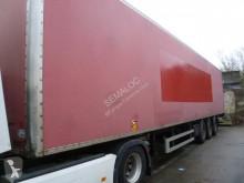Fruehauf fourgon + hayon semi-trailer used plywood box