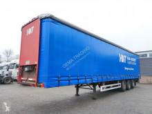 Pacton tautliner semi-trailer T3 - 3 Assen SAF - 2 liftassen - Schijfremmen - Hardhoutenvloer (O507)