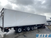 Schmitz Cargobull gestuurde geisoleerde oplegger met 3T achterklep ON38BS semi-trailer used box