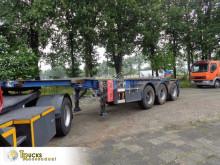 Semi remorque porte containers Groenewegen + Van Hool 2011 + Van Hool 2010 + ADR + 20FT - 30FT