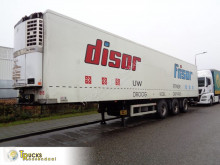 Renders mono temperature refrigerated semi-trailer ROC 12.27DK + Thermo King SL-400e + + LIFT