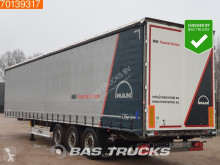 Fliegl tautliner semi-trailer SDS 350 SAF Edscha