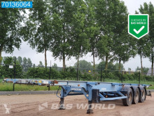Trailer Asca S322D1 Package of 3! Steel Suspension tweedehands containersysteem