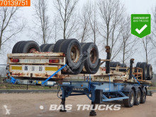 Trailer Asca 3 Units! Steel suspension 1x20-2x20-1x30-1x40ft tweedehands containersysteem