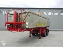 Semirremolque volquete Langendorf SKA 18/27 Alu, 24m³, Rollplane, Stützbeine