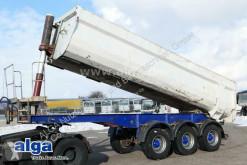 Langendorf tipper semi-trailer SKS HS 24/27, Stahl, 25m³, schlammdicht