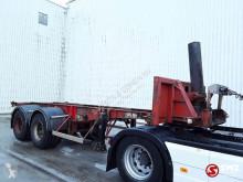 弗吕霍夫半挂车 Oplegger +kipcylinder blatt/lames 集装箱运输车 二手