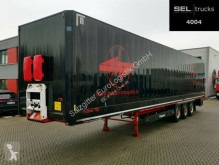 Krone box semi-trailer SD / BPW / Textiltransport / Liftachse