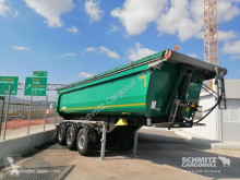 Schmitz Cargobull Tipper steel half pipe body 25m³ semi-trailer used tipper