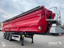 Fliegl tipper semi-trailer Kipper Stahlrundmulde 47m³