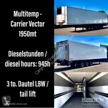 Schmitz Cargobull Tiefkühler Standard Trennwand Ladebordwand izoterma używana