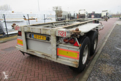 Semi remorque porte containers Pacton Container Chassis / 20FT / Steel Suspension BPW + DRUM