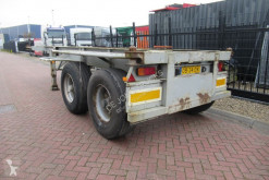 Semi remorque Pacton Container Chassis / 20FT / Steel Suspension BPW + DRUM porte containers occasion