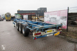 Semi remorque porte containers Krone SDC 27 / Container Chassis / SAF Axles / Drum Brakes