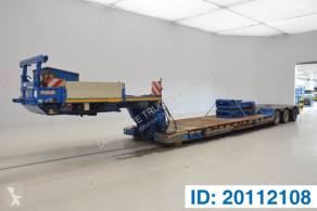 Semi remorque Nooteboom Low bed trailer porte engins occasion
