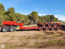 Gontrailer G-734 semi-trailer used heavy equipment transport