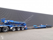 Faymonville heavy equipment transport semi-trailer STBZ-5VA + JEEP DOLLY / EXTENDABLE / PENDEL AXLE